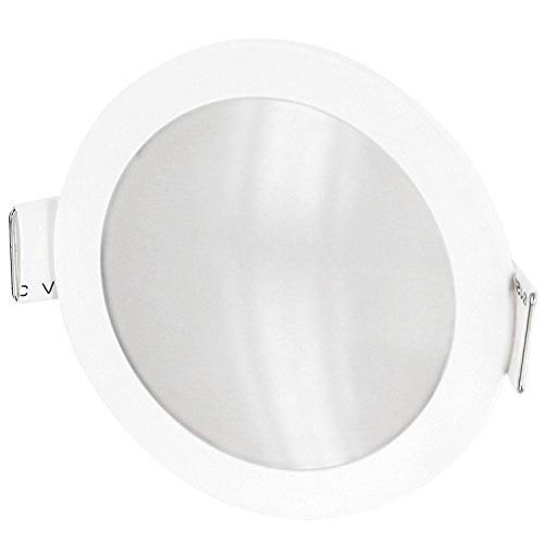 Unterputz-leuchte (Ultraslim LED Panel Feuchtraum Einbauleuchte IP54 - incl. LED Trafo für 230V - 5W 420lm - Ø 90mm 30mm flach - tagesweiß (4200 K))