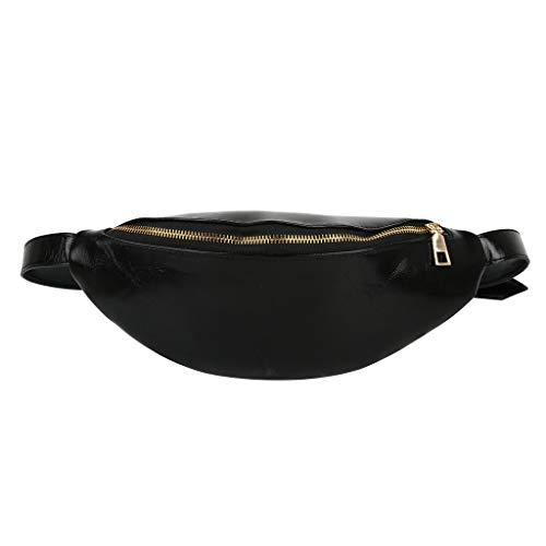 ➤Refill➤Bauchtasche Gürteltasche Hüfttasche Sport Wasserdicht Zwei Fächer mit Reißverschluss Verstellbarer Gurt Bauchtasche Damen Joggen Wandern Radfahren Reisen Hüfttasche