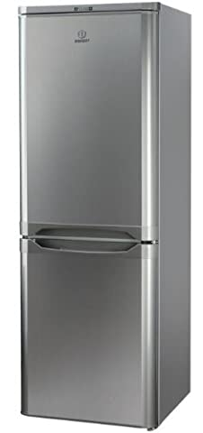 Indesit NCAA 55 NX Autonome Acier inoxydable 150L 67L A+ réfrigérateur-congélateur - réfrigérateurs-congélateurs (Autonome, Bas-placé, A+, Acier inoxydable, SN-T, 4*)