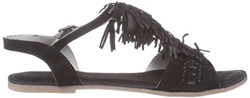 Marc Shoes 1.667.09-22/100-nera, Sandales femme Noir - Schwarz (black 100)