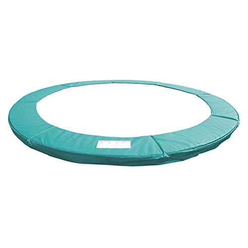 Greenbay 14FT Outdoor Trampoline Replacement Pad Safety Spring Cover Padding ( Green )