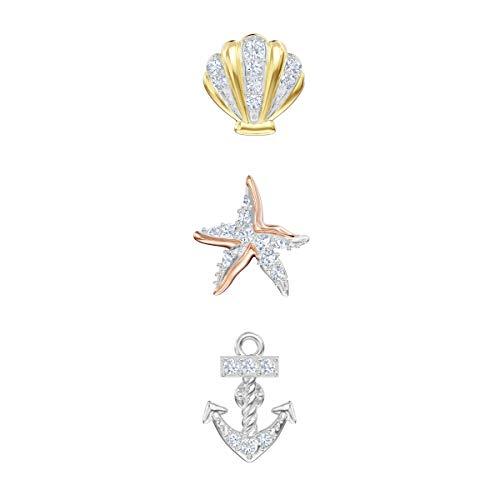Swarovski Ocean Ohrringe, Mehrfarbig, Metallmix