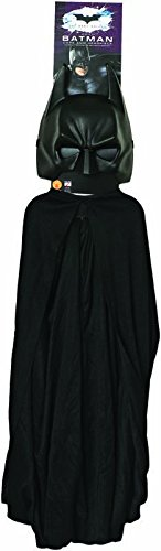 Set Cape et Masque Batman Dark Night Rises™ enfant (Standard - 5/10 ans) (Der Offizielle Batman Kostüm)