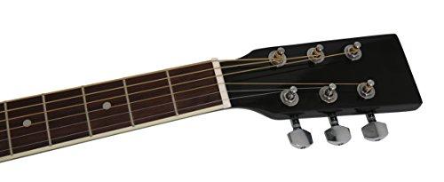 Navarra NV 31 Westerngitarre schwarz - 5