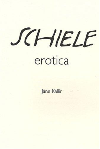 Egon Schiele : Erotica (Coffret de 20 chefs-d'oeuvre imprimés à la main sur presse lithographique ancienne dans une édition limitée et numérotée de 1200 exemplaires), édition bilingue français-anglais