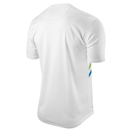 Nike Meadow '16 Ltr, Chaussures de Running Compétition Homme Blanc Cassé - Blanco (Black / White)