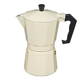 KitchenCraft Le'Xpress 6-Cup Stovetop Espresso Maker, 290 ml 31OeKGgRsuL