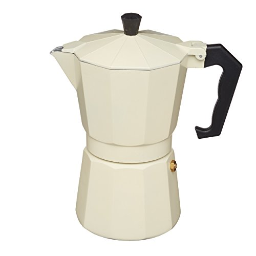 KitchenCraft Le'Xpress 6-Cup Stovetop Espresso Maker, 290 ml 31OeKGgRsuL
