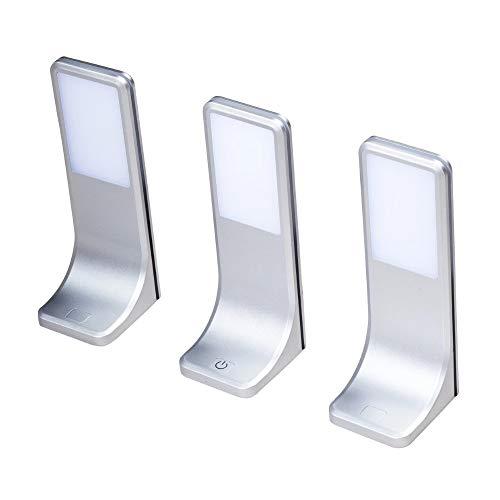 LED Unterbauleuchten Küchenleuchte Küchenleuchten Panel Unterbauleuchte Küche, Auswahl:3er SET, Lichtfarbe:neutralweiß