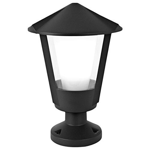 Eco Light Lampadaire d'extérieur Intemporelle Corne, culot E27, IP54 1254 S Gr