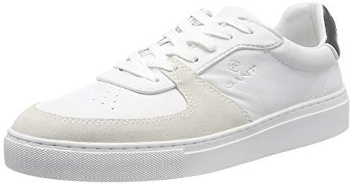 GANT Footwear Herren Denver Sneaker, Weiß (Br.Wht./Marine G297), 42 EU