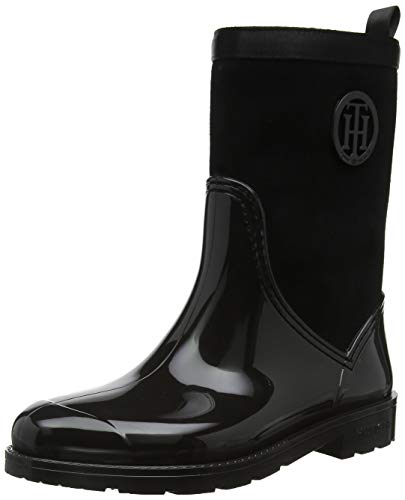 Tommy Hilfiger Warmlined Suede Rain Boot