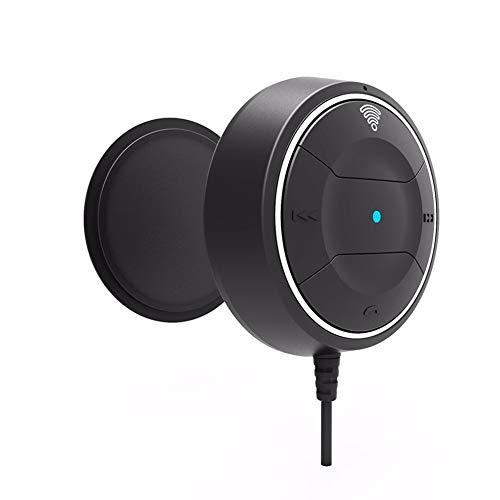 YSHtanj Bluetooth Kfz-Ladegerät, Empfänger JRBC01 NFC, Freisprecheinrichtung, Bluetooth, MP3-Player, 3,5 mm Audio-Receiver, Adapter, Schwarz Mp3-bluetooth-home Kit