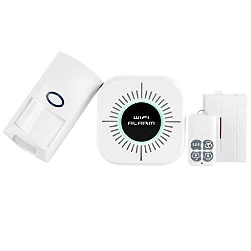 Funkalarm, Wireless Home Einbrecher Alarm System SOS Motion Türfenster Sensor Sicherheit -