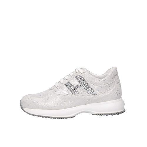 Hogan Junior HXC00N0O241KIIB200 Sneakers Bambina Argento 35