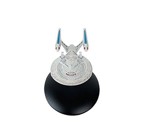 terprise NCC-1701-E Eaglemoss Collection Raumschiff Modell - Star Trek die Offizielle Sammlung: Ausgabe #18 mit deutschem Magazin ()