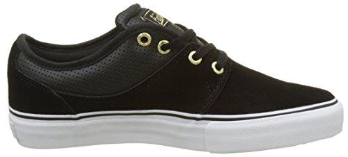 Globe Herren Mahalo Skateboardschuhe Mehrfarbig (Black/gold)