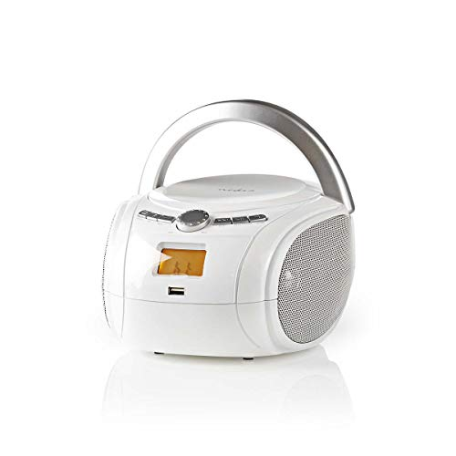 TronicXL Boombox 9 W Bluetooth CD-Player UKW-Radio USB AUX