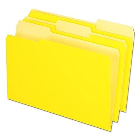 Pendaflex Pendaflex Innen Datei Ordner, 1/3Cut, Top Tab, Legal, 100/Box Legal gelb