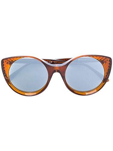 Bottega veneta luxury fashion donna bv0148s002 marrone occhiali da sole | autunno inverno 19
