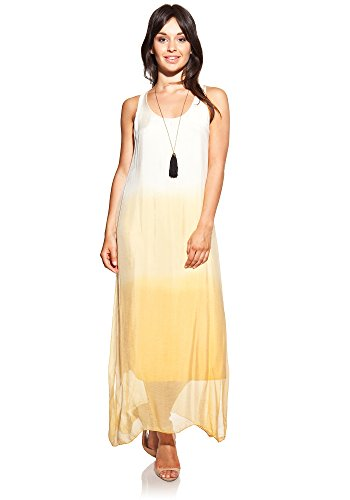 laura-moretti-silk-dress-colour-yellow-long-u-neck-and-side-openings