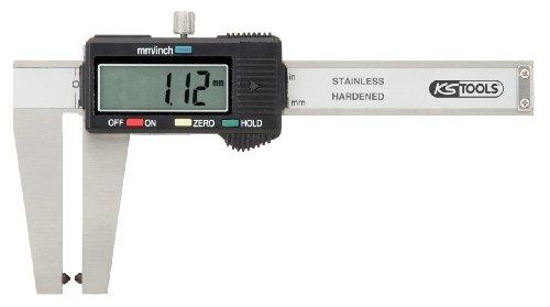 KS Tools 300.0540 Calibre à coulisse inox digital pour disque de frein Coffret plastique pas cher