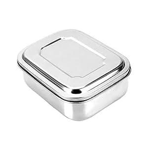 2 Stück Lunchbox aus rostfreies Edelstahl Brotdose
