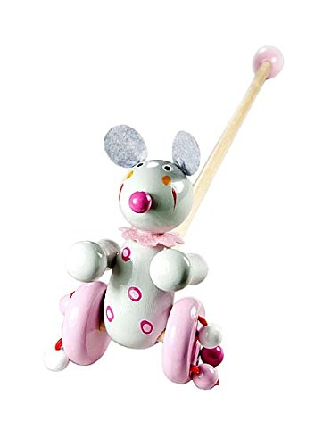 Push Pull Along Toy Mouse for Ba...