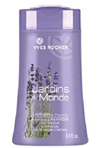 Les Jardins du Monde LAVANDIN de PROVENCE Shower Gel by Yves Rocher (8.4 fl. oz./250ml) by Yves