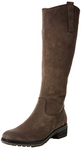Gabor Shoes Damen Fashion Hohe Stiefel, Grau (Anthrazit 19), 41 EU