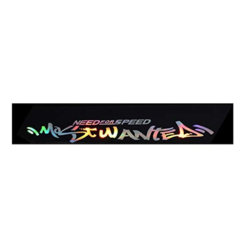 liangjunjun Auto Aufkleber Laser reflektierende Buchstaben Frontscheibe Windschutzscheibe Aufkleber Aufkleber