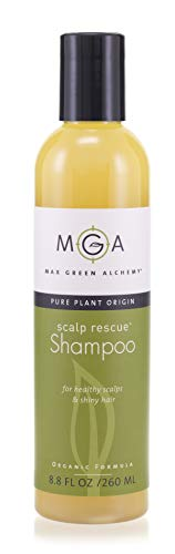 Scalp Rescue Shampoo, 260ML, with Lemon Tea Tree For Healthy & Lustrous Hair. Reduces Itchy Scalp, Dandruff & Frizz. No Parabens, Sulfates, PEGs or Quats. Natural Herbal Scent For All Hair Types