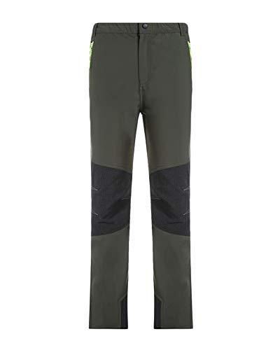 DianShaoA Kinder Active Hose Pants Jungen Mädchen Softshell-Hose Atmungsaktiv Wind-Und Wasserabweisend Skihose Sporthose Regenhose Armee-Grün XL
