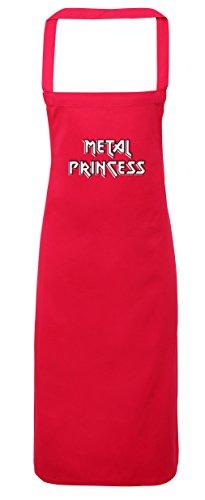 hippowarehouse Metall Prinzessin Rock Chick Schürze Küche Kochen Malerei DIY Einheitsgröße Erwachsene, fuchsia pink, (Märchen Erwachsene Kostüme Diy Für)