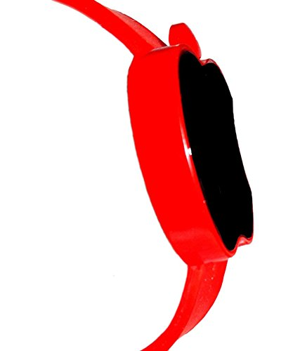 LAXMI AND SUNS Apple Led Watch Red Color