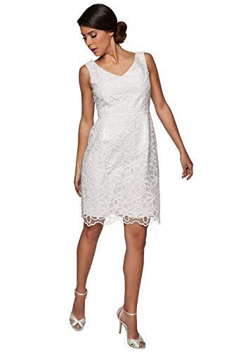 APART Fashion Abendkleid V-Ausschnitt