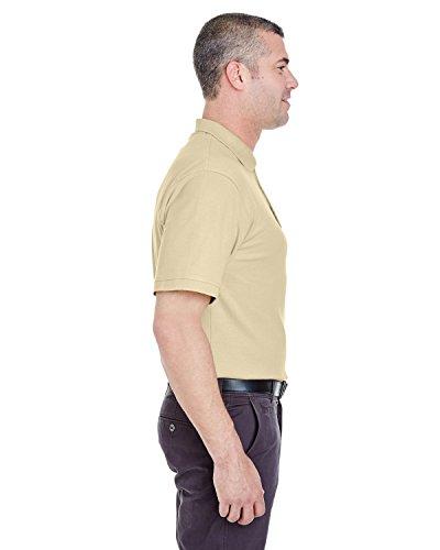 UltraClub Herren Poloshirt Putty