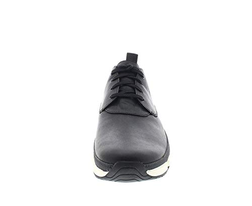 Timberland CA13FT Men   s Wharf District Oxford  Color  Jet Black Kid Stadia  Size  10 5 D M  US