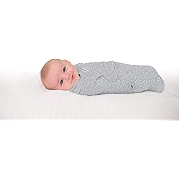 Summer Infant SWADDLEME original gris Star Grand ¦ bébé dort mieux ¦ 3-6 mois