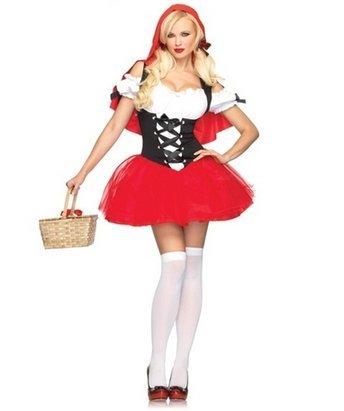 Little Red Riding Hood Kost?m Halloween-Kost?me Disney Halloween-Kost?me [batch] mit Tutu ist niedlich (Riding Little Red Disney Hood)