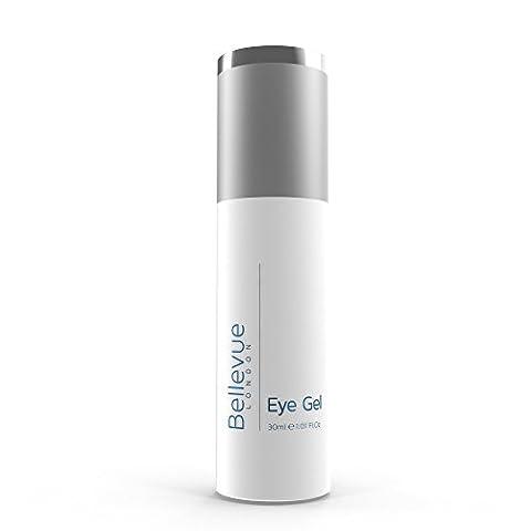 Bellevue of London Eye Gel-Premium Anti-Aging Formula, Reduces Wrinkles, Fine