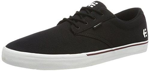 Etnies Jameson Vulc, Scarpe da Skateboard Uomo Black (Black/White)