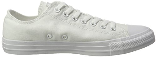 Converse Chuck Taylor All Star Ox, Baskets mode homme Blanc Cassé - bianco (Weiß)