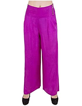 Indian Handicrfats Export Sweekash Regular Fit Women's Purple Trousers