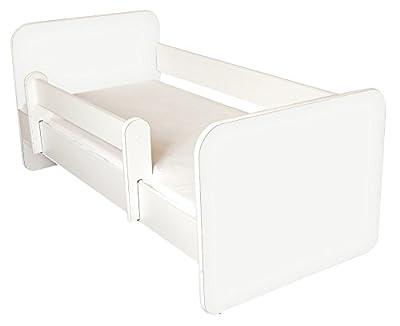 Cama para bebé con colchón y laterales extraíbles de BestByMax