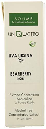 Uni 4 Uva Ursina foglie estratto analcolico 50 ml - Prodotto erboristico made in Italy