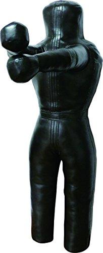 Lisaro Brazilian UFC Jiu Jitsu Grappling Dummy, MMA Grappling, Ringerpuppe-Wrestling Dummy Schwarz, Ungefüllt.170CM LRD-Model -