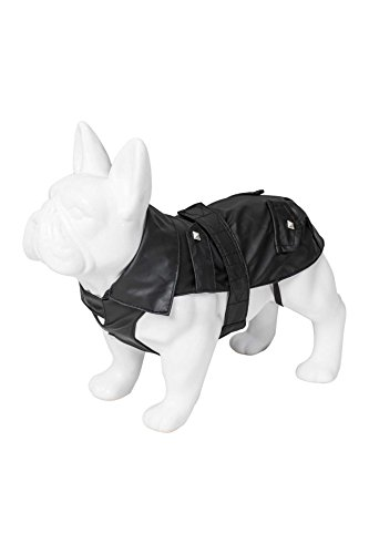 Karl Lagerfeld Haustiere Hunde Regenjacke, Winterjacke Für Winter Herbst Frühling, Farbe: Schwarz, Größe: 60 (Hund Jagd-lustigen)