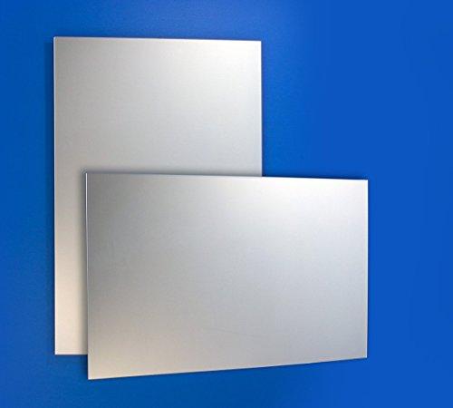 Bricode Süd Wandspiegel Badspiegel verschiedene größen. Rahmenloser unbeleuchteter Spiegel Garderobenspiegel ohne Licht (o) 80cm x 60cm