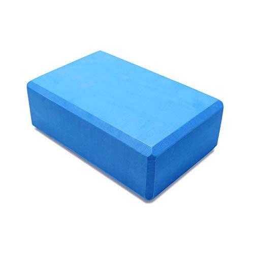 EVA Yoga Brique Vert Yoga Coussin Oreiller Auxiliaire Outils Plus Brique De Mousse De Remise En Forme Brique (Color : Blue)
